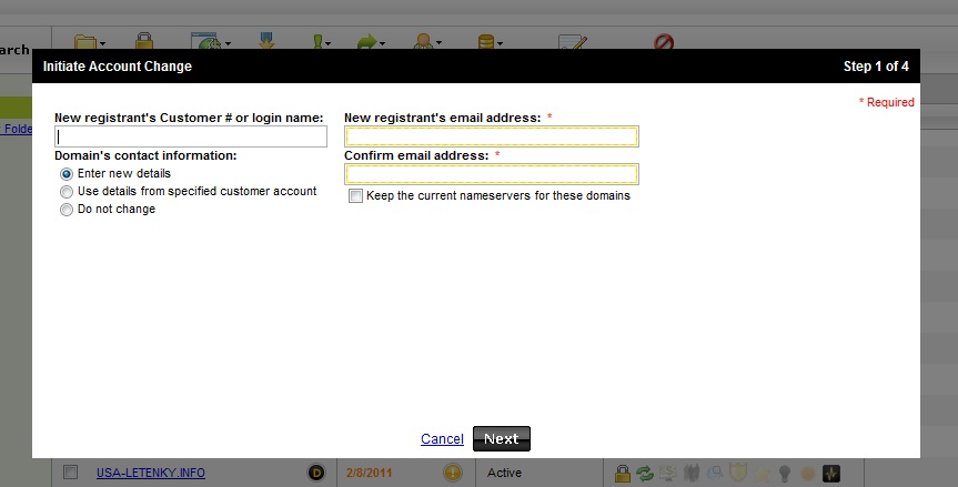 godaddy how to cancel email account