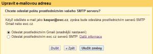 smtp-google-nastaveni-mailu
